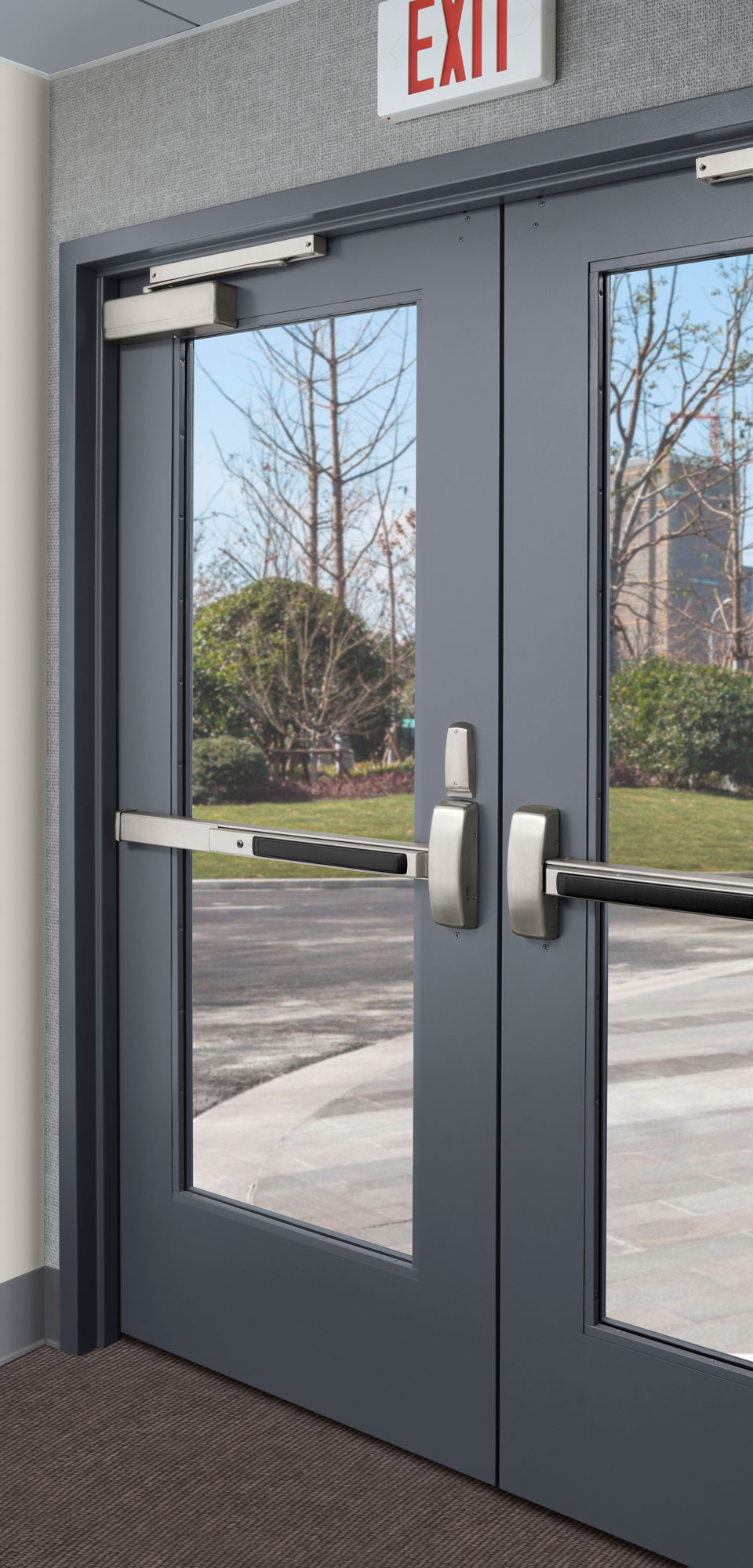 Curries 767 Stile And Rail Steel Door