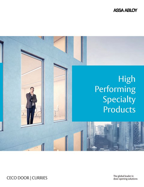 ASSA ABLOY High Performing Specialty Brochure  sc 1 st  Curries & Steel u0026 Metal Doors and Frames - CURRIES - Commercial Hollow Metal ... pezcame.com
